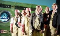 MISS FORTUNE   by Judith Weir   conductor: Paul Daniel   set design: Tom Pye   costumes: Han Feng   lighting: Scott Zielinski   director: Chen Shi-Zheng   chorus co-production with Bregenz Festival...