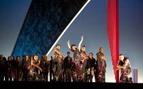 MISS FORTUNE   by Judith Weir   conductor: Paul Daniel   set design: Tom Pye   costumes: Han Feng   lighting: Scott Zielinski   director: Chen Shi-Zheng   breakdancers at curtain call: Soul Mavericks...