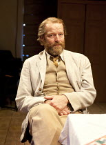 UNCLE VANYA   by Chekhov   in a new version by Mike Poulton   design: William Dudley   lighting: Richard Howell   director: Lucy Bailey ~Iain Glen (Vanya)~The Print Room, London W2   29/03/2012