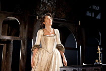 THE DUCHESS OF MALFI  by John Webster  design: Soutra Gilmour  lighting: James Farncombe  movement: Ann Yee  director: Jamie Lloyd ~Eve Best (The Duchess of Malfi) ~Old Vic Theatre, London SE1  28/03/...