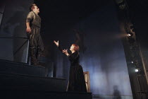 PHEDRE   by Racine   in a new version by Ted Hughes design: Maria Bjornson   lighting: Mark Henderson   director: Jonathan Kent   Toby Stephens (Hippolytus), Diana Rigg (Phedre) Almeida Theatre pro...