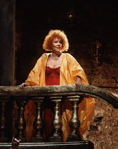 ALL FOR LOVE   by John Dryden   design: Peter J Davidson & Sue Willmington   director: Jonathan Kent   Diana Rigg (Cleopatra)  Almeida Theatre, London N1   30/04/1991