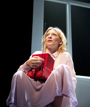 BIG AND SMALL (GROSS UND KLEIN)   by Botho Strauss   English text by Martin Crimp   director: Benedict Andrews ~Cate Blanchett (Lotte) ~Sydney Theatre Company production / Barbican Theatre, Barbican C...