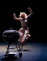 BIG AND SMALL (GROSS UND KLEIN)   by Botho Strauss   English text by Martin Crimp   director: Benedict Andrews   Cate Blanchett (Lotte)  Sydney Theatre Company production / Barbican Theatre, Barbica...