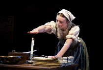 WRITTEN ON THE HEART  by David Edgar   design: Francis O'Connor   lighting: Tim Mitchell   director: Gregory Doran   Jodie McNee (Mary Currer)  Royal Shakespeare Company production / Duchess Theatr...