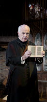WRITTEN ON THE HEART  by David Edgar   design: Francis O'Connor   lighting: Tim Mitchell   director: Gregory Doran   James Hayes (Archdeacon)  Royal Shakespeare Company production / Duchess Theatre...