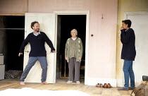 HERE   by Michael Frayn   design: Polly Sullivan   lighting: Mike Gunning   director: Lisa Spirling ~l-r: Alex Beckett (Phil), Alison Steadman (Pat), Zawe Ashton (Cath)~Rose Theatre Kingston / Surrey,...