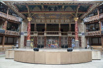 OTHELLO: THE REMIX   after Shakespeare   design: Scott Davies   creators & directors: GQ & JQ (The Q Brothers) ~stage,full,empty,scenic cloth,graffiti,Heavens,gallery~Chicago Shakespeare Theater / Glo...