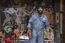 OTHELLO: THE REMIX   after Shakespeare   design: Scott Davies   creators & directors: GQ & JQ (The Q Brothers) ~Postell Pringle (Othello)~Chicago Shakespeare Theater / Globe to Globe festival / Shakes...