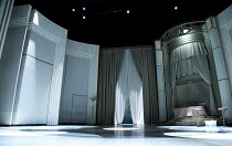 TOP HAT   music & lyrics: Irving Berlin   set design: Hildegard Bechtler   costumes: Jon Morrell   lighting: Peter Mumford   choreography: Bill Deamer   director: Matthew White ~stage,empty,set ~Aldwy...