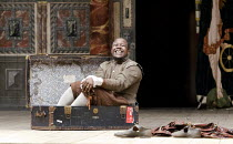 TWO GENTLEMEN OF VERONA   by Shakespeare ~~Denton Chikura (Julia) ~Two Gents Productions, Harare  / Globe to Globe festival / Shakespeare's Globe, London SE1   09/05/2012~(c) Donald Cooper/Photostage...