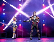 STARLIGHT EXPRESS   music: Andrew Lloyd Webber   lyrics: Richard Stilgoe   design: John Napier   lighting: Nick Richings   direction & choreography: Arlene Phillips ~~Ruthie Stevens (Dinah), Kristofer...