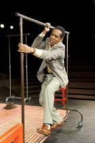 William Nadylam in THE SUIT at The Young Vic, London SE1  23/05/2012  after Can Themba, Mothobi Mutloatse & Barney Simon  adapted & directed by Peter Brook & Marie-Helene Estienne  music: Frank Krwcz...