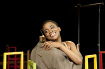 Nonhlanhla Kheswa in THE SUIT at The Young Vic, London SE1  23/05/2012  after Can Themba, Mothobi Mutloatse & Barney Simon  adapted & directed by Peter Brook & Marie-Helene Estienne  music: Frank Krw...