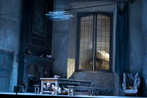 LA CENERENTOLA (Cinderella)   by Rossini - conductor: James Gaffigan   set design: Hildegard Bechtler   costumes: Moritz Junge   lighting: Peter Mumford   director: Peter Hall ~the thunderstorm - unde...