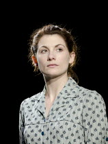 ANTIGONE   by Sophocles   in a version by Don Taylor   design: Soutra Gilmour   lighting: Mark Henderson   director: Polly Findlay ~Jodie Whittaker (Antigone) ~Olivier Theatre / National Theatre (NT),...