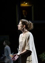 ANTIGONE   by Sophocles   in a version by Don Taylor   design: Soutra Gilmour   lighting: Mark Henderson   director: Polly Findlay ~Jodie Whittaker (Antigone)~Olivier Theatre / National Theatre (NT),...