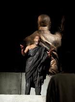 JULIUS CAESAR   by Shakespeare   design: Michael Vale   lighting: Vince Herbert   director: Gregory Doran   Paterson Joseph (Marcus Brutus) Royal Shakespeare Company (RSC) / Royal Shakespeare Theatr...