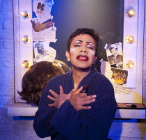 TORCH SONG TRILOGY   by Harvey Fierstein   design: Soutra Gilmour   lighting: Paul Anderson   director: Douglas Hodge  'The International Stud': David Bedella (Arnold Beckoff)  Menier Chocolate Fact...