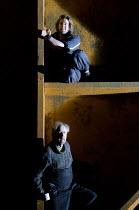 BILLY BUDD   by Benjamin Britten   conductor: Edward Gardner   set design: Paul Steinberg   costumes: Constance Hoffman   lighting: Adam Silverman   direcor: David Alden   top: Benedict Nelson (Billy...
