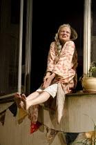 THE LAST OF THE HAUSSMANS   by Stephen Beresford    design: Vicki Mortimer   lighting: Mark Henderson   director: Howard Davies ~Julie Walters (Judy)~Lyttelton Theatre / National Theatre (NT), London...