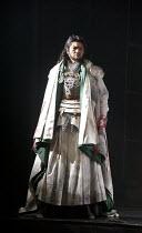 CYMBELINE   by Shakespeare   set design: Tsukasa Nakagoshi   costumes: Nobuko Miyamoto   lighting: Jiro Katsushiba   director: Yukio Ninagawa ~Tomomi Maruyama (Lucius)~Ninagawa Company, Tokyo, Japan /...