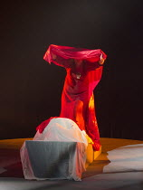 GOTTERDAMMERUNG  by Wagner   conductor: Anthony Negus   design: Kjell Torriset   lighting: Ben Ormerod   director: Alan Privett   immolation scene: Rachel Nicholls (Brunnhilde) Longborough Festival...