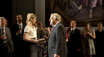 TIMON OF ATHENS   by Shakespeare   design: Tim Hatley   lighting: Bruno Poet   director: Nicholas Hytner ~Simon Russell Beale (Timon of Athens)~Olivier Theatre / National Theatre (NT), London SE1   17...