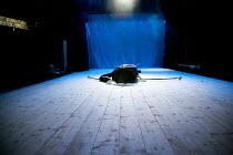 A MIDSUMMER NIGHT'S DREAM (AS YOU LIKE IT)   after Shakespeare   design: Vera Martynova   puppets: Victor Platonov   lighting: Ivan Vinogradov   director: Dmitry Krymov   stage,set,empty,curtain,umbr...