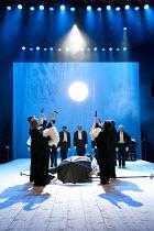 A MIDSUMMER NIGHT'S DREAM (AS YOU LIKE IT)   after Shakespeare   design: Vera Martynova   puppets: Victor Platonov   lighting: Ivan Vinogradov   director: Dmitry Krymov   members of company with swan...