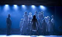 CAROUSEL   music: Richard Rodgers   book & lyrics: Oscar Hammerstein II   conductor: James Holmes   design: Anthony Ward   lighting: Bruno Poet   director: Jo Davies ~back to camera: Beverley Grant (L...