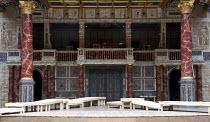 HENRY IV part 1   by Shakespeare   set design: Auda Caraza y Atenea Chavez   costumes: Mario Marin del Rio   director: Hugo Arrevillaga Serrano ~stage,set.empty~Compania Nacional de Teatro, Mexico / G...