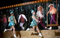 THE BARTERED BRIDE   by Smetana   English translation by Kit Hesketh-Harvey   conductor: Peter Robinson   design: Cordelia Chisholm   lighting: David Howe   director: Rodula Gaitanou   circus perform...
