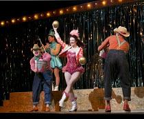 THE BARTERED BRIDE   by Smetana   English translation by Kit Hesketh-Harvey   conductor: Peter Robinson   design: Cordelia Chisholm   lighting: David Howe   director: Rodula Gaitanou   centre: Jennif...