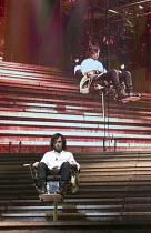 JESUS CHRIST SUPERSTAR   music: Andrew Lloyd Webber   lyrics: Tim Rice   design: Mark Fisher   lighting: Patrick Woodroffe   director: Laurence Connor ~~Ben Forster (Jesus) ~UK Arena Tour 2012 / 02 Ar...