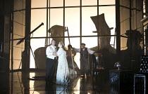 DAS RHEINGOLD   by Wagner   conductor: Antonio Pappano   set design: Stefanos Lazaridis   costume design: Marie-Jeanne Lecca   lighting: Wolfgang Gobbel   director: Keith Warner   l-r: Bryn Terfel (...