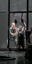 DAS RHEINGOLD   by Wagner   conductor: Antonio Pappano   set design: Stefanos Lazaridis   costume design: Marie-Jeanne Lecca   lighting: Wolfgang Gobbel   director: Keith Warner   Fafner kills Fasol...