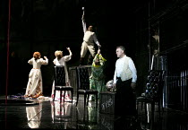 DAS RHEINGOLD   by Wagner   conductor: Antonio Pappano   set design: Stefanos Lazaridis   costume design: Marie-Jeanne Lecca   lighting: Wolfgang Gobbel   director: Keith Warner   l-r: Sarah Connoll...