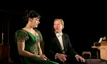 THE SECOND MRS TANQUERAY   by Arthur Wing Pinero   set design: Paul Wills   costumes: Mark Bouman   lighting: Mike Gunning   director: Stephen Unwin   Laura Michelle Kelly (Paula Tanqueray), James Wi...