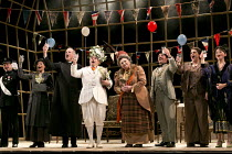 ALBERT HERRING   by Benjamin Britten   conductor: Michael Rosewell   design: Neil Irish   lighting: Guy Hoare   director: James Conway   l-r: Tim Dawkins (Superintendant Budd), Clarissa Meek (Mrs Her...