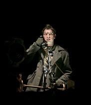 THE EMPEROR OF ATLANTIS   by Viktor Ullmann   conductor: Peter Selwyn   design: Neil Irish   lighting: Guy Hoare   director: James Conway   Callum Thorpe (Loudspeaker) English Touring Opera (ETO) /...