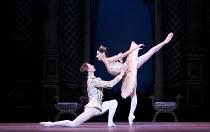 THE SLEEPING BEAUTY   music: Tchaikovsky   choreography: MacMillan after Petipa   set design: Peter Farmer   costumes: Nicholas Georgiadis   Vadim Muntagirov (Prince Desire), Tamara Rojo (Princess A...