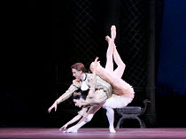 THE SLEEPING BEAUTY   music: Tchaikovsky   choreography: MacMillan after Petipa   set design: Peter Farmer   costumes: Nicholas Georgiadis   Tamara Rojo (Princess Aurora), Vadim Muntagirov (Prince D...