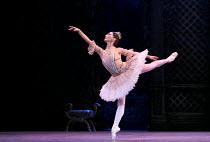 THE SLEEPING BEAUTY   music: Tchaikovsky   choreography: MacMillan after Petipa   set design: Peter Farmer   costumes: Nicholas Georgiadis   Tamara Rojo (Princess Aurora) English National Ballet (E...