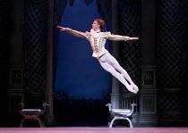 THE SLEEPING BEAUTY   music: Tchaikovsky   choreography: MacMillan after Petipa   set design: Peter Farmer   costumes: Nicholas Georgiadis   Vadim Muntagirov (Prince Desire) English National Ballet...