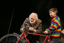 GOODNIGHT MISTER TOM   written by Michelle Magorian   adapted by David Wood   design: Robert Innes Hopkins   lighting: Tim Mitchell   director: Angus Jackson   l-r: Oliver Ford Davies (Tom Oakley), W...