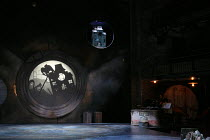 THE MOUSE AND HIS CHILD   new adaptation by Tamsin Oglesby based on the novel by Russell Hoban   design: Angela Davies   lighting: Paul Anderson   director: Paul Hunter   stage,empty,set,projection,s...