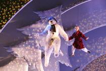 THE SNOWMAN   based on the story by Raymond Briggs   music & lyrics: Howard Blake   design: Ruari Murchison   lighting: Tim Mitchell   director: Bill Alexander   'Walking in the air': James Leece (T...