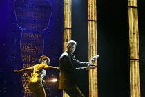 THE BODYGUARD   book by Alex Dinelaris   based on the film by Lawrence Kasdan   design: Tim Hatley   lighting: Mark Henderson   choreography: Arthur Pita   director: Thea Sharrock   Heather Headley (...