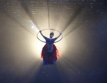 MIDNIGHT'S PUMPKIN   created by the company   design: Michael Vale   lighting: Malcolm Rippeth   choreographer: Etta Murfitt   directors: Mike Shepherd & Emma Rice ~Audrey Brisson (Midnight)~Kneehigh...